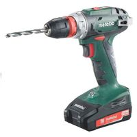 Metabo BS 18 Quick 10мм 2.0Ah x2 Case